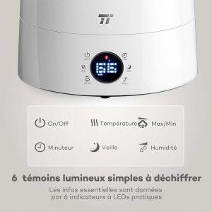 Notre sélection d'humidificateurs d'air