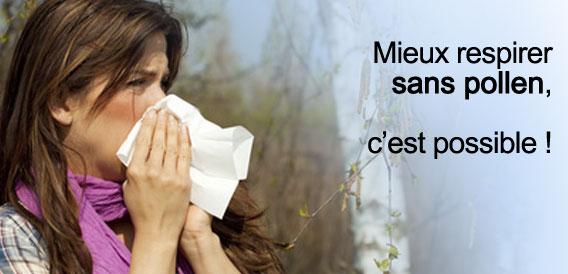 Les allergies au pollens et les ionisateurs