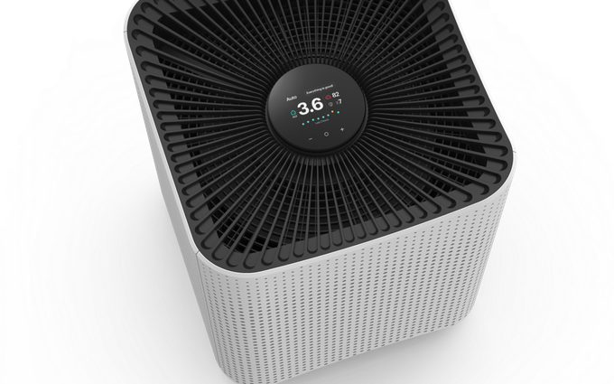 Mila, le purificateur d'air connecté intelligent (et beau).