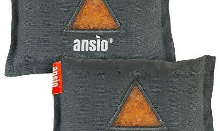 Sac absorbeur d'humidité réutilisable pour déshumidificateur de voiture ANSIO, déshumidificateur automobile élimine la condensation et la moisissure - paquet de 2