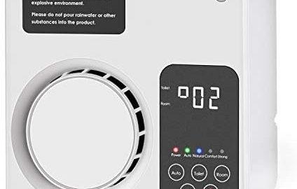 KROMEN Générateur d'ozone Ioniseur Purificateur D'air Opération Intelligente Éliminateur D'odeurs Désodorisant pour la maison Chambre Salon Toilette Bureau