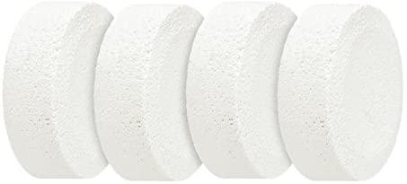 WENKO Recharge de déshumidificateur - 4 x 250 g, Chlorure de calcium