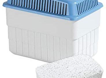WENKO Déshumidificateur 1 kg - déshumidificateur , Polypropylène, 24 x 16 x 15 cm, Blanc
