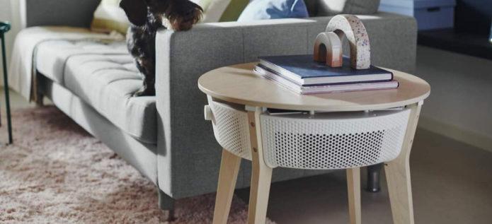 Ikea lance un purificateur d'air connecté au design étonnant